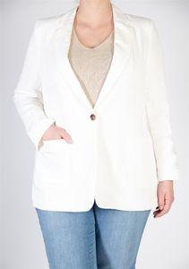 Rofa blazers Blazer met linnen wit