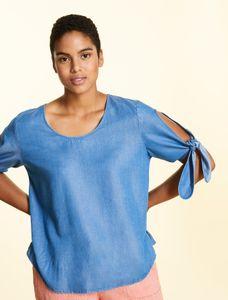 Marina Rinaldi Sport Blouse jeans blauw BASEBALL
