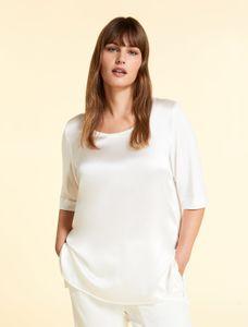 Marina Rinaldi Easy shirt wit VACANZA