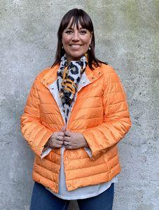 Marina Rinaldi Sport Jas doorgestikt oranje PADRE