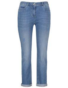 Samoon Jeans Betty 7/8 licht blauw