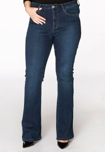 Yoek Jeans flared blauw
