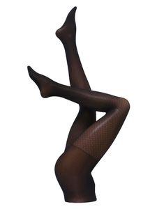 Cette Panty Limoges zwart print