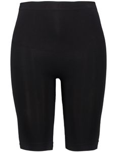 Samoon Shape pants lange pijp zwart