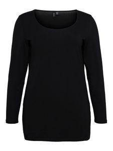 Vero Moda Curve Shirt lange mouw zwart