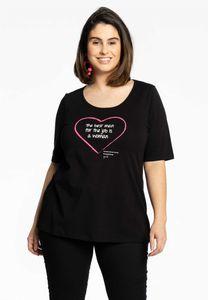 Yoek Shirt met hartje en tekst