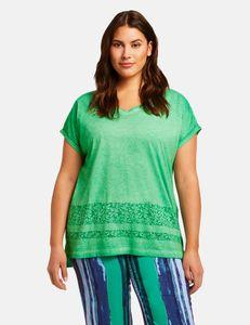 Samoon Shirt met kleine print