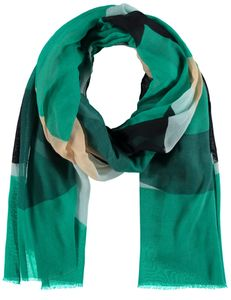 Samoon Sjaal groen geblokt