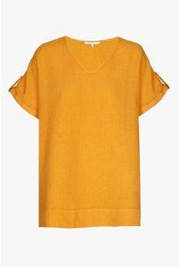 Xandres Gold Tuniek linnen oranje X-ALETTA