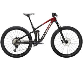 Trek Fuel EX 8 XT S 29 Rage Red to Dnister Black Fade N