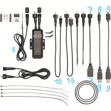 B+M kabel USB naar Micro USB nr 9 E-werk