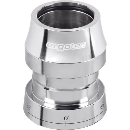 Ergotec balhoofd set Ahead+lock 1/8 zilver