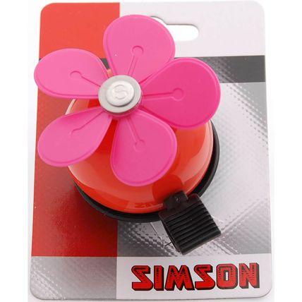Simson bel Bloem rd/roze