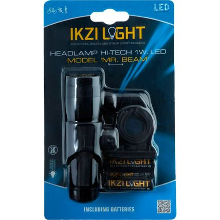 IKZI kopl Mr Beam 1w led aluminium