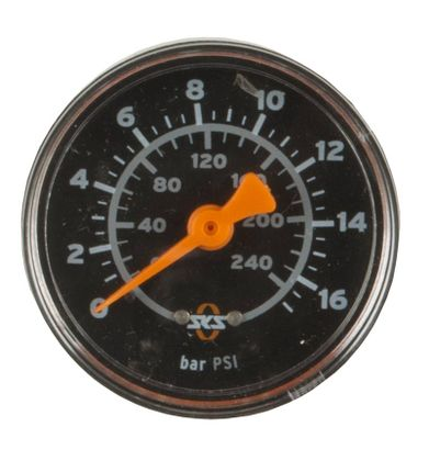 Manometer 16 bar R1/4 inch Rennkompressor