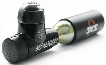 AIRBUSTER CO2 pomp (omkeerbare ventielkop) -NIEUW-