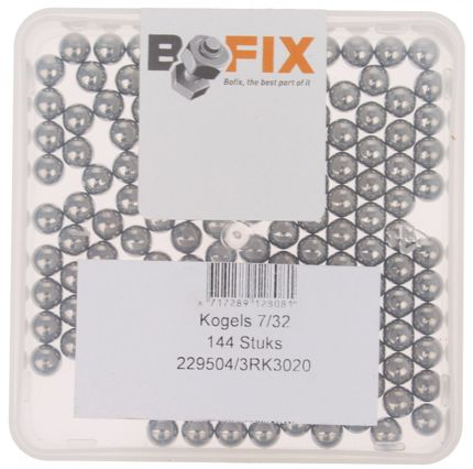 BB0804A Kogels 7/32 Carbonstaal