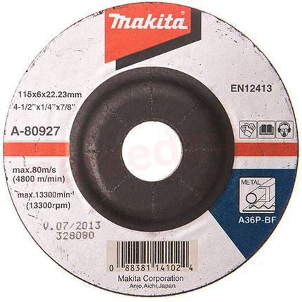 GRS MAKITA AFBRAAMSCHIJF 115X6.0 ST