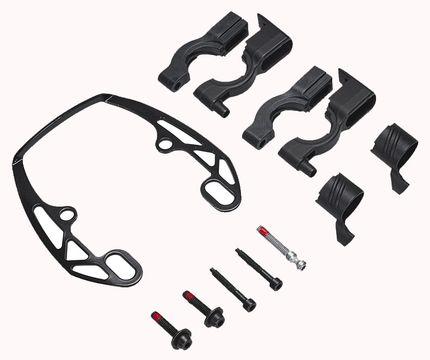 EASY MOUNT-adapter voor een rem. zwart (VE = per
