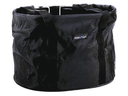 Rixen&kaul mand shopper spullenbag klickfix zwart