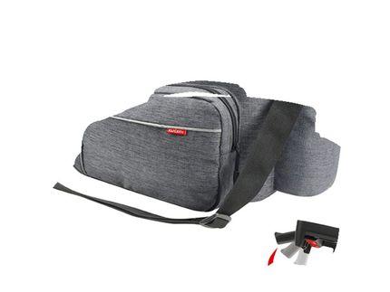 Klickfix achtertas rackpack sport uniklip grijs
