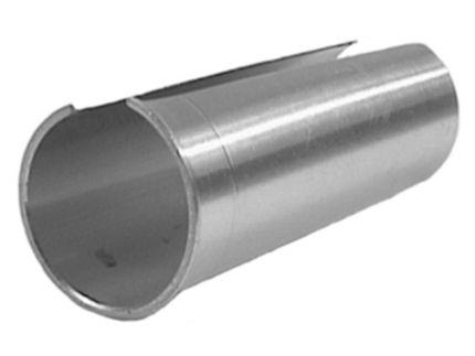 Humpert vulbus zadelpen aluminium 27,2-28,8 80mm