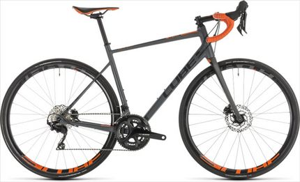 CUBE ATTAIN SL DISC GREY/ORANGE 2019 50CM