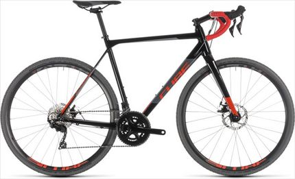 CUBE CROSS RACE BLACK/RED 2019 53CM