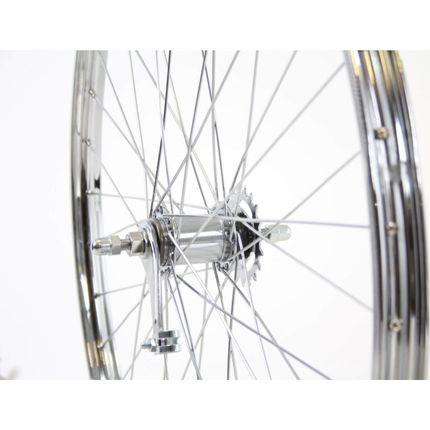 Achterwiel 28x 1.3/8 Staal Shimano