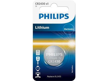 Philips batt CR2430 Lith 3V BP1