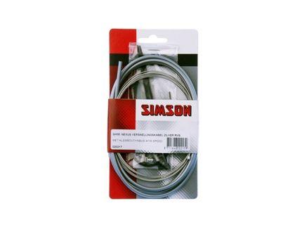 Simson Versnellingskabel Nexus RVS Zilver