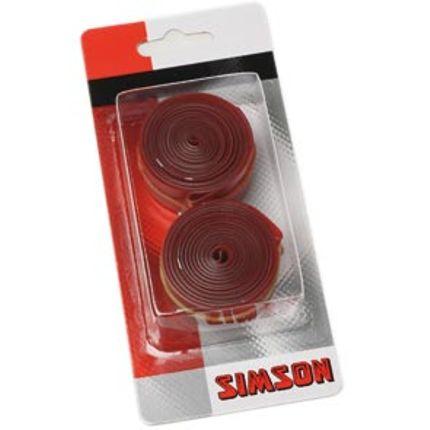 Simson Velglint 26/28 PVC 15mm (2 stuks)