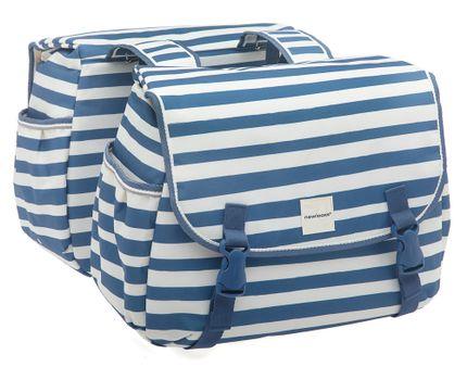 New Looxs dubbele tas Joli Blue stripe