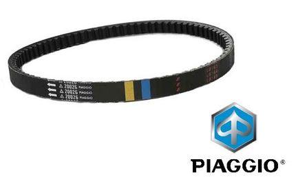 V-snaar Lang Carter Piaggio/Vespa 50 2T 98> Geel/Blauw