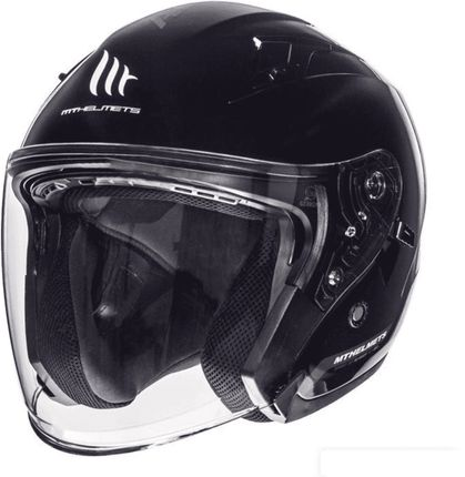 Helm MT Avenue SV Zwart Glans - XL