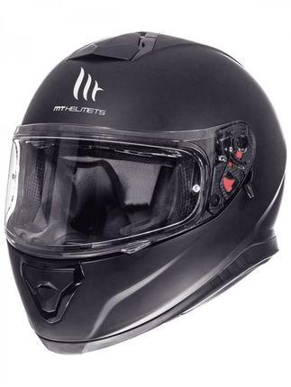 Helm MT Thunder III SV Solid Mat-Zwart - L