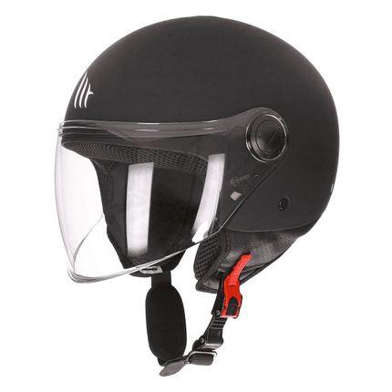 Helm MT Street Zwart-Mat - L