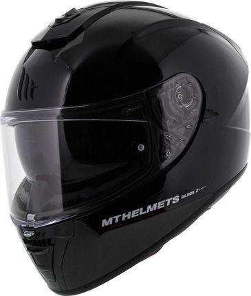 Helm MT Blade II SV Solid Zwart Glans - L