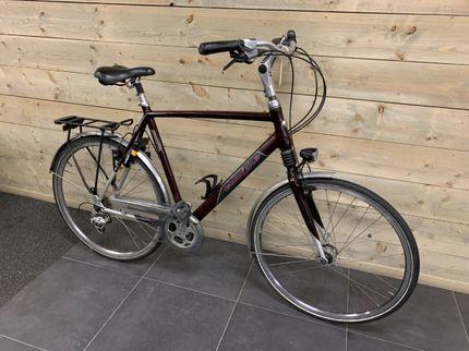 Gazelle Siena Goldline 27V H61, Koningsrood/Bright Alu