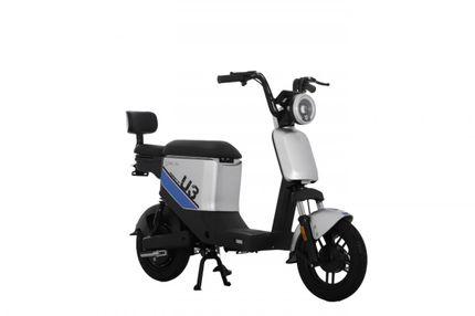 Yadea U3 25km Elektrische scooter, Silver