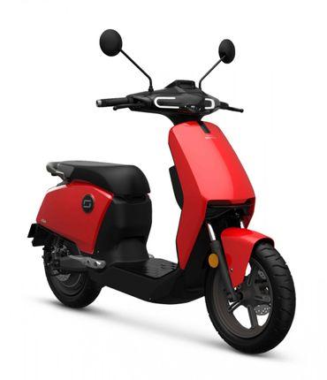 Super Soco CUX E-scooter 25km, Ferrarie Red