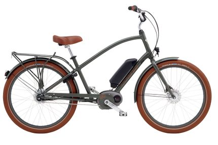 Electra Townie Go! 8i Men's NON-US 26 Army Grey