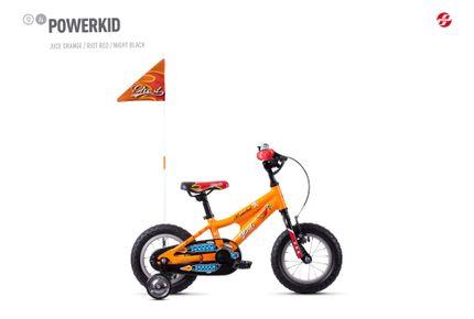 POWERKID AL 12 K ORNG/RED/BLK