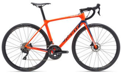 Giant TCR Advanced 2 Disc-King of Mountain L Neon Red