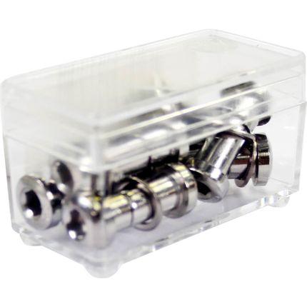 Zadelpenbout inbus Bofix cromo - 25mm (6 stuks)
