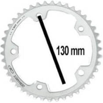 Gebhardt achterwielblad 38t 5gts zilver 9sp