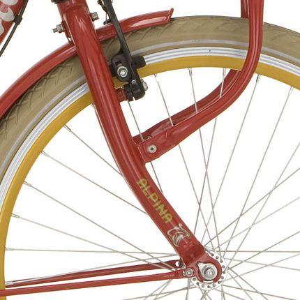 Alpina voorvork 26 Clubb J21 rood