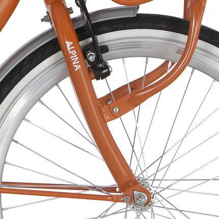 Alpina voorvork 20 Clubb orange pearl