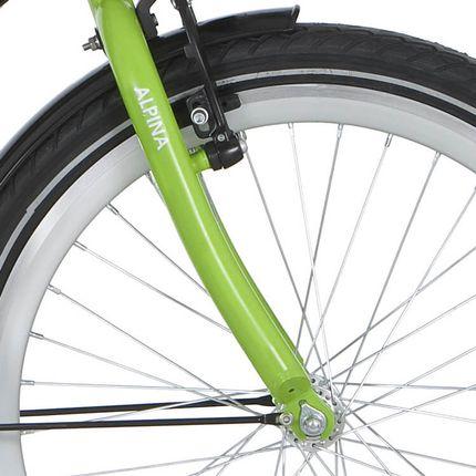 Alpina voorvork 22 GP lime green