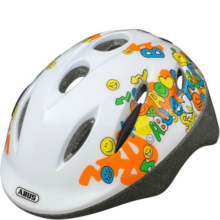 Abus helm Smooty smiley white S 45-50